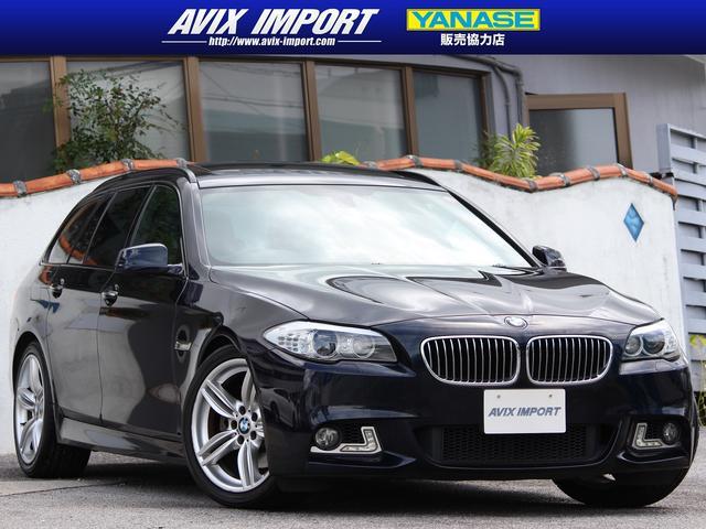沖縄の中古車 BMW 5シリーズ 車両価格 178万円 リ済別 2013(平成25)年 5.7万km カーボンブラック