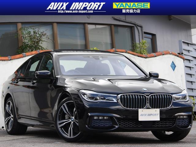 BMW 7シリーズ 740eアイパフォーマンス Mスポーツ 黒レザー ガラスSR 3Dビューカメラ Dアシストプラス ヘッドアップD LEDライト iDriveナビゲーションシステムHDDナビ・10.2インチワイドコントロールディスプレイ 1オナ 本土仕入