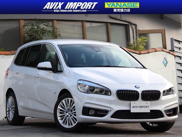 沖縄の中古車 BMW 2シリーズ 車両価格 198万円 リ済別 2016(平成28)年 3.4万km アルピンホワイト