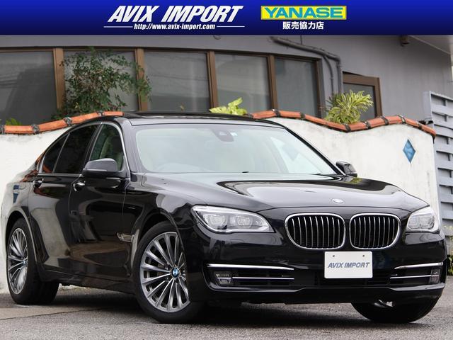 BMW アクティブハイブリッド7 後期型 ガラスSR 白レザー インテリセーフ ACC HUD 純正HDDナビ地デジBカメラ LEDライト 19AW シートヒーター ベンチレーション コンフォートアクセス 禁煙車 本土仕入
