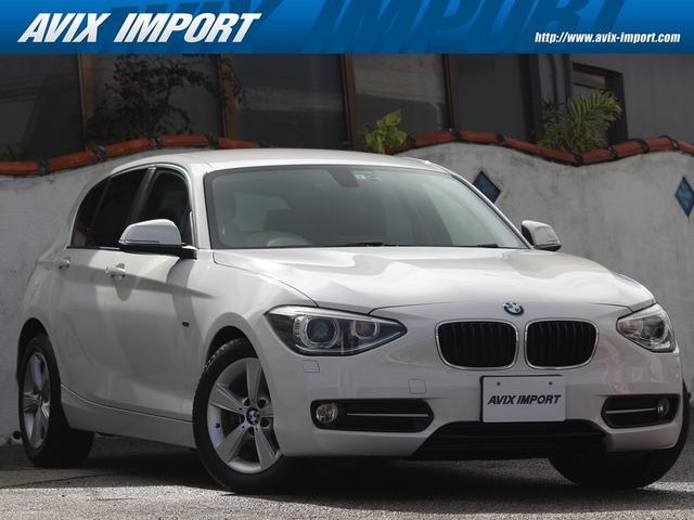 BMW 1シリーズ 116i スポーツ 純正HDDナビBカメ キセノンHL 16AW 1オナ DOHC直列6気筒ターボ ステップトロニック コンフォートアクセス 電子制御8速AT プッシュスタート 右ハンドル BMW正規ディーラー車本土仕入