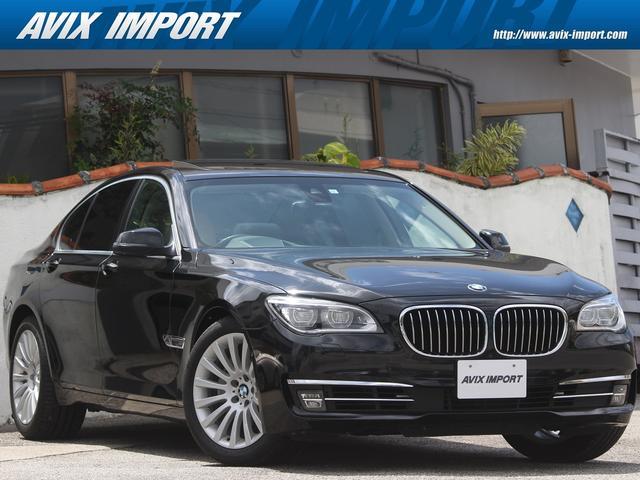 BMW 7シリーズ 740i エグゼクティブED 後期型 ガラスSR ホワイト革 HUD ACC 安全支援装置 純正HDDナビ地デジBカメラ LED 19AW 禁煙車 DOHC直列6気筒ターボ 電子制御8速AT 本土仕入