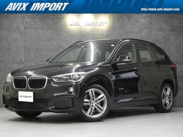 沖縄の中古車 BMW X1 車両価格 198万円 リ済別 2016(平成28)年 6.1万km ブラックサファイア