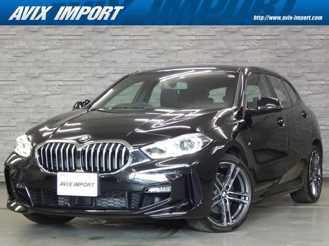 BMW 1シリーズ 118i Mスポーツ 黒半レザー 新車保証継承可能 ACC 純正HDDナビBカメラ LEDライト 18AW コンフォートアクセス パワートランク 禁煙車 DOHC直列3気筒ターボ 本土仕入