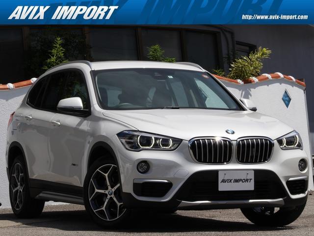 BMW sDrive 18i xライン ブラウンレザー 安全支援装置 純正HDDナビBカメラ 18AW オートトランク 1オナ レーンディパージャーウォーニング キセノンヘッドライト ミラーETC 本土仕入