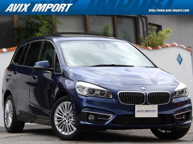 沖縄の中古車 BMW 2シリーズ 車両価格 188万円 リ済別 2016(平成28)年 4.1万km メディテレニアンブルー