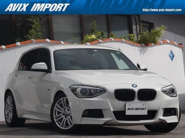 BMW 1シリーズ 116i Mスポーツ 社外ナビ地デジ キセノンHL 17AW コンフォートアクセス 禁煙1オナ DOHC直列6気筒ターボ 電子制御8速AT プッシュスタート 右ハンドル BMW正規ディーラー車 本州仕入