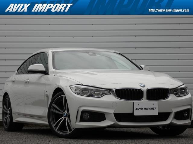 BMW 420iグランクーペ イン スタイル ブラウン革 ACC HUD LEDライト 安全支援装置 純正HDDナビBカメラ 19AW オートトランク 禁煙車 限定車 スタートストップ 電子制御8速AT 本州仕入