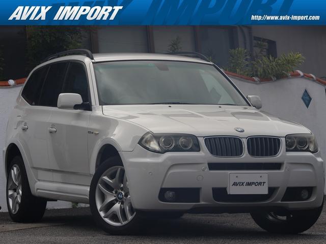 沖縄の中古車 BMW X3 車両価格 78万円 リ済別 2007(平成19)年 5.8万km アルピンホワイト