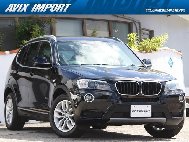 沖縄の中古車 BMW X3 車両価格 128万円 リ済別 2013(平成25)年 8.0万km ブラックサファイア