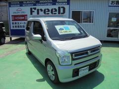 ワゴンRハイブリッドFX 新車 展示車シルバー 月々9900円