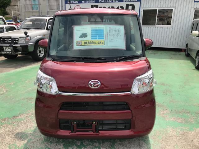 沖縄の中古車 ダイハツ タント 車両価格 ASK リ済込 新車  レッド
