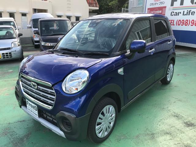 沖縄の中古車 ダイハツ キャスト 車両価格 ASK リ済込 新車  ブルー