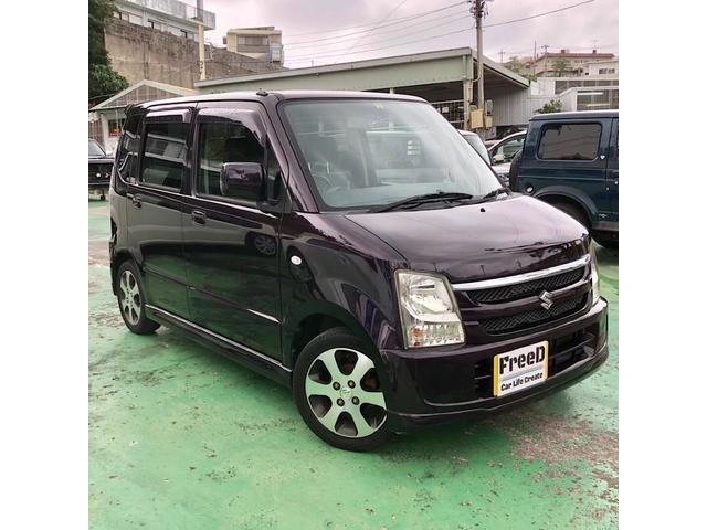 沖縄の中古車 スズキ ワゴンR 車両価格 33万円 リ済込 平成20年 8.2万km パープル