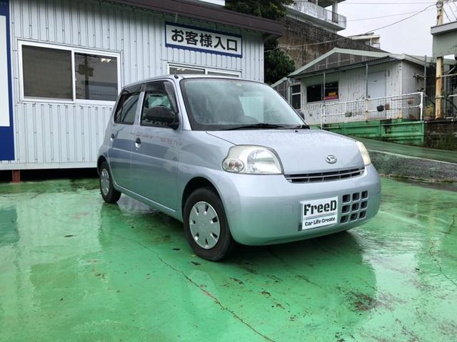 沖縄の中古車 ダイハツ エッセ 車両価格 20万円 リ済込 2009(平成21)年 8.1万km シルバー