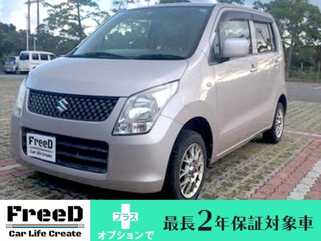 沖縄の中古車 スズキ ワゴンR 車両価格 29.4万円 リ済込 2009(平成21)年 8.7万km ピンク