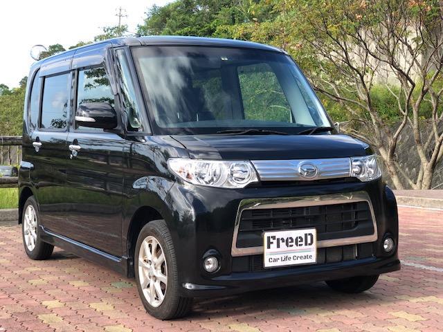 沖縄県の中古車ならタント カスタムX 車検整備付き タイヤ新品 バッテリー新品