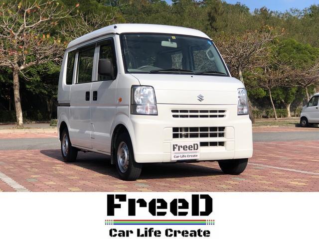 沖縄県中頭郡西原町の中古車ならエブリイ PA  2年保証 車検整備付き 本土車両