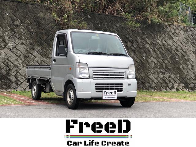 沖縄の中古車 スズキ キャリイトラック 車両価格 52.4万円 リ済込 2011(平成23)年 5.1万km グレー