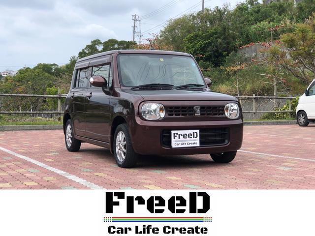 沖縄の中古車 スズキ アルトラパン 車両価格 42.4万円 リ済込 2009(平成21)年 7.8万km ブラウンM