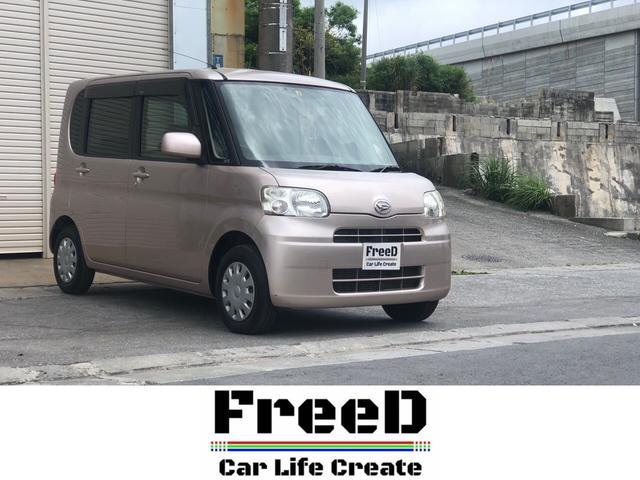 沖縄の中古車 ダイハツ タント 車両価格 38.4万円 リ済込 2009(平成21)年 6.6万km ピンク