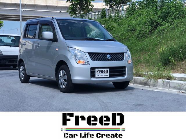 沖縄の中古車 スズキ ワゴンR 車両価格 26万円 リ済込 2011(平成23)年 9.5万km グレーM