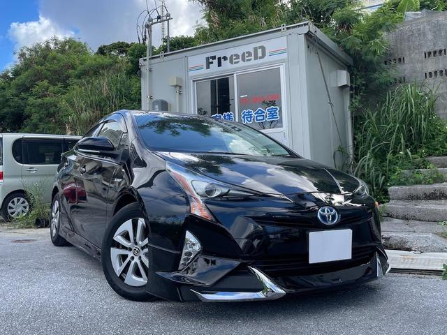 沖縄県の中古車ならプリウス S 本土車両 BTナビ バックカメラ ETC モデリスタエアロ  2年保証対象車