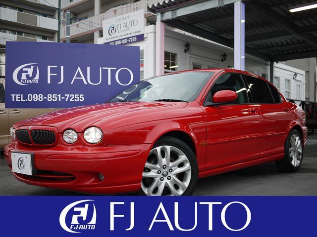 沖縄の中古車 ジャガー ジャガー Xタイプ 車両価格 39万円 リ済別 2001年 4.6万km レッド