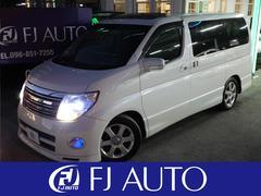 沖縄の中古車 日産 エルグランド 車両価格 55万円 リ済別 平成17年 12.8万K ホワイトパール