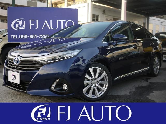 トヨタ G 本革シート スカッフイルミネーション メーカーナビ