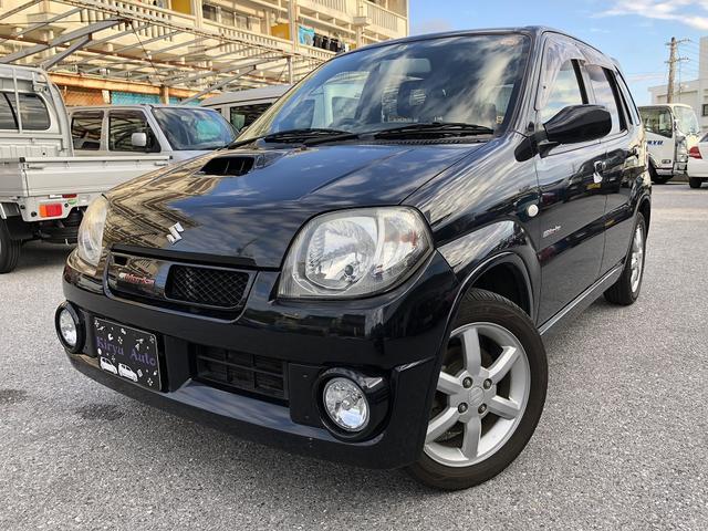 沖縄の中古車 スズキ Keiワークス 車両価格 34万円 リ済込 2006(平成18)年 17.0万km ブラック