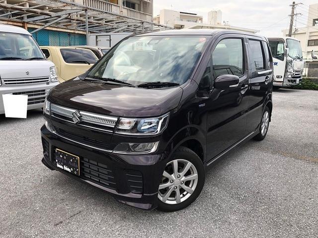 沖縄県の中古車ならワゴンR ハイブリッドFZ セーフティパッケージ装着車