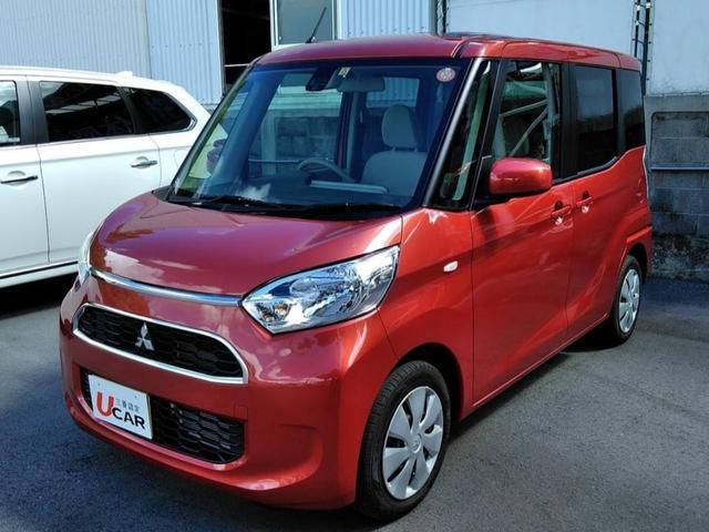 沖縄の中古車 三菱 eKスペース 車両価格 109.8万円 リ済別 平成29年 0.2万km レッドM