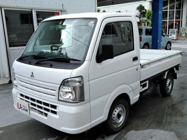 沖縄の中古車 三菱 ミニキャブトラック 車両価格 69.8万円 リ済別 平成27年 3.0万km ホワイト