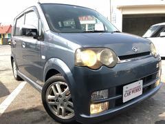 沖縄の中古車 ダイハツ ムーヴ 車両価格 23万円 リ済込 平成14年 7.3万K ブルー
