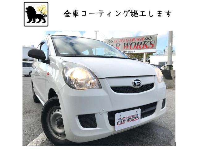 沖縄の中古車 ダイハツ ミラ 車両価格 19万円 リ済込 2011(平成23)年 8.9万km ホワイト