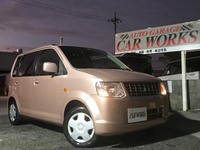 沖縄の中古車 三菱 eKワゴン 車両価格 25万円 リ済込 平成21年 7.9万km ピンク