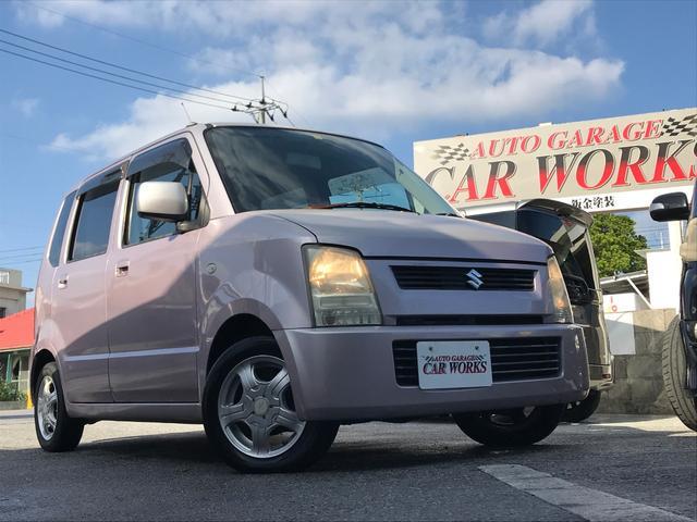 沖縄県の中古車ならワゴンR FX 追突安全ボディー パワーウィンドウ フルフラット