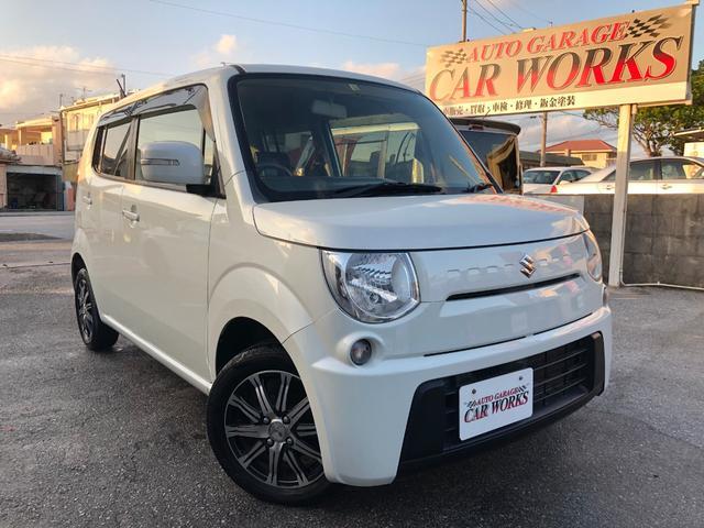 沖縄の中古車 スズキ MRワゴン 車両価格 46万円 リ済別 平成24年 5.5万km パールホワイト