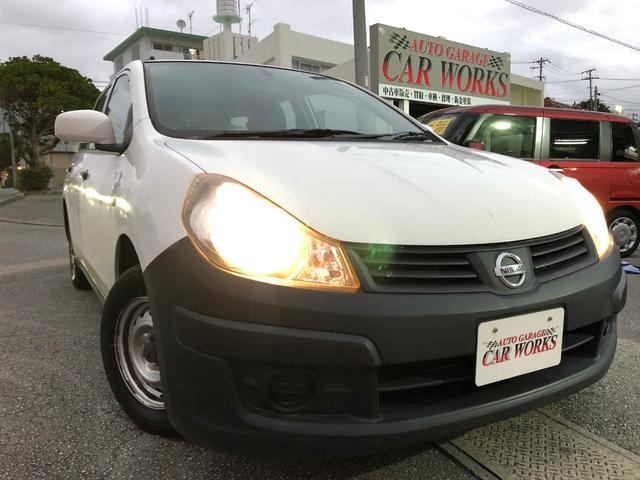 沖縄の中古車 日産 AD 車両価格 34万円 リ済込 平成25年 11.0万km ホワイト