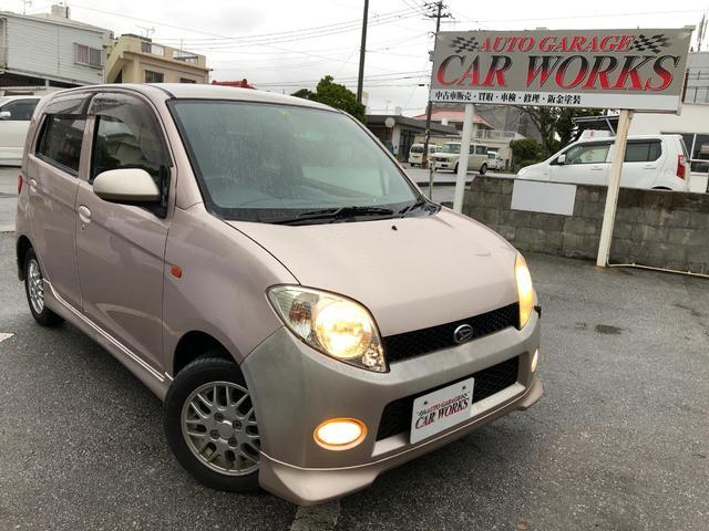 沖縄の中古車 ダイハツ MAX 車両価格 10万円 リ済別 平成14年 10.3万km ピンク