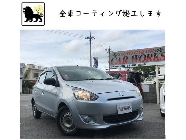 沖縄の中古車 三菱 ミラージュ 車両価格 35万円 リ済別 平成25年 8.1万km グレーII