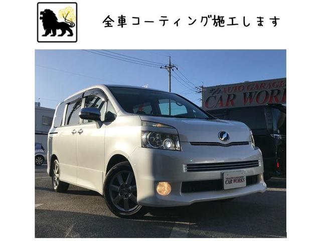 沖縄の中古車 トヨタ ヴォクシー 車両価格 59万円 リ済込 2008(平成20)年 12.0万km パールホワイト