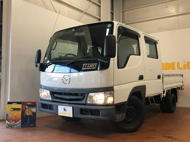 沖縄県の中古車ならタイタンダッシュ WキャブワイドローDX エアコン ガラスコーティング