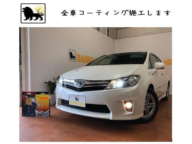 沖縄の中古車 トヨタ SAI 車両価格 63万円 リ済込 2010(平成22)年 9.5万km ホワイトパールクリスタルシャイン