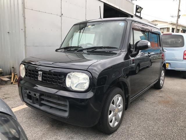 沖縄の中古車 スズキ アルトラパン 車両価格 34万円 リ済込 2009(平成21)年 10.0万km ブラックM