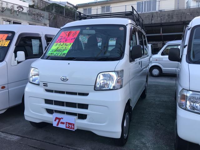 沖縄の中古車 ダイハツ ハイゼットカーゴ 車両価格 38万円 リ済込 2013(平成25)年 11.3万km ホワイト