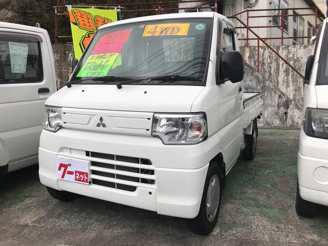 沖縄の中古車 三菱 ミニキャブトラック 車両価格 49万円 リ済込 2012(平成24)年 15.3万km ホワイト