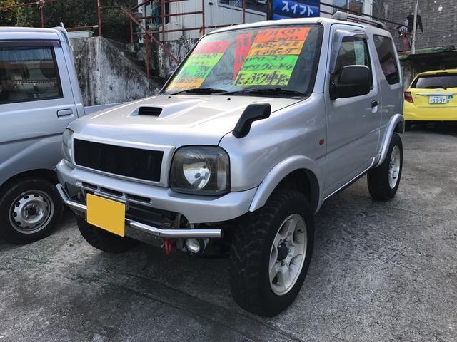 沖縄の中古車 マツダ AZオフロード 車両価格 38万円 リ済込 2000(平成12)年 14.2万km シルバー