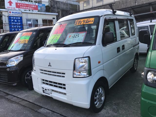 沖縄の中古車 三菱 ミニキャブバン 車両価格 48万円 リ済込 年式不明 1.3万km ホワイト